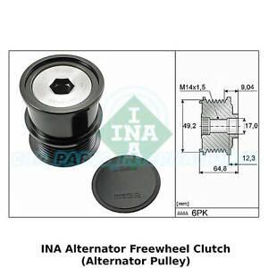 INA Alternator Freewheel Clutch (Alternator Pulley) - 535 0284 10 - OE Quality