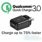NEW Qualcomm Quick Charge™ 3.0 USB Australian Mains Power Adapter Mobile Tablet