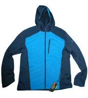 Under Armour men's Cold Gear Reactor Exert Cruise Blue Jacket XXL/ 2XL rt $150