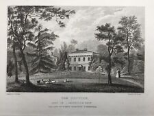 1831 Antique Print; The Coppice, Coalbrookdale, Shropshire after F. Calvert
