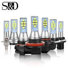 H7 H11 H16 9005 9006 H1 H3 880 881 12SMD LED Car Fog Light DRL Lamp 6000K White