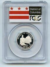 2009 S 25C Silver Washington DC Quarter PCGS PR70DCAM