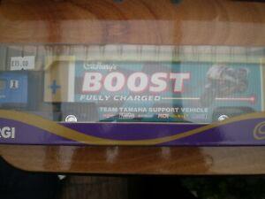 Corgi 59519 Volvo Race Transporter Cadbury's Boost Bike Team