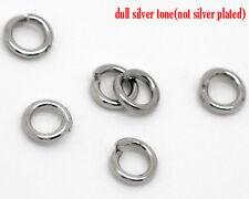 2000 PCs Silver Tone Open Jump Ring 3.5x0.7mm Wholesale SP0052