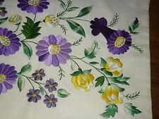 Super  Zierkissen  / Sofakissen    Handarbeit  Blumen Shabby Chic  Unbenutzt