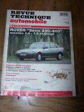 % Revue technique Rover serie 200 400 Essence 1.4 1.6 Diesel RTA562