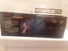 2005 MR SW .45 scale lightsaber OBI-WAN Kenobi Celebration III Exclusive AFA 90!
