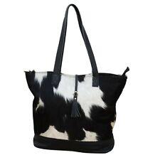 Genuine Cowhide Leather Straps Handbag Carryon Overnight Travel Men Women