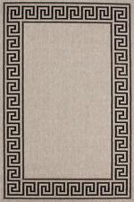 Tapis Modernes Médusa à poils ras Designer Neuf PROMOTION gris noir 80x150