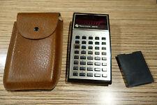 Taschenrechner Texas Instruments TI 30 mit Tasche. Defekt