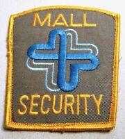 VINTAGE MALL SECURITY OFFICER SHOULDER PATCH - BILLERICA MASSACHUSETTS