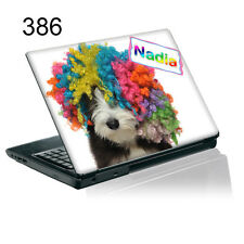TaylorHe Personalized Laptop Decal Vinyl Skin Sticker With YOUR NAME P386