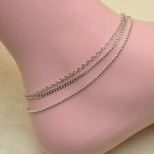 """Anklet Adjustable 10 1/4""""-8 5/8"""" Cute *New* Ladies Fashion Alloy"""
