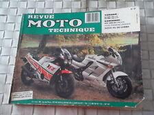 REVUE TECHNIQUE MOTO YAMAHA XJ et FZ 600 / KAWASAKI GPZ 1000 RX