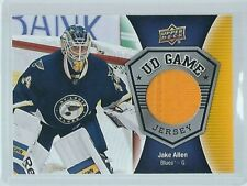 2016-17 Upper Deck Series 1 & 2 UD GAME JERSEYS ***YOU PICK - FINISH YOUR SET***