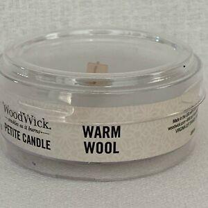 WoodWick Petite Candle 1.1 oz Scented Small Mini WW Wood Wick 7 + Free Shipping