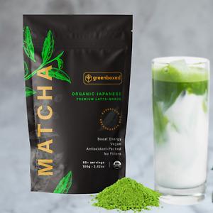 Te Verde Molido Japones Matcha Organico Calidad Premium Latte (50+ porciones)