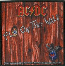 AC/DC Fly on the Wall Album Embroidered Patch OFFICIAL LICENCED MERCHANDISE Sew