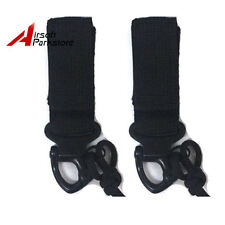 2pcs Miltifunctional QD Buckle Hook for Tactical Molle Blackhawk Vest Bag Black