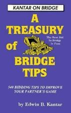 Treasury of Bridge Tips: 540 Bidding Tips to Improve Your Partner's Game (Kantar