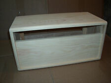 TRM pine head cabinet fits Peavey Bandit 65. Unfinished Project. made to order