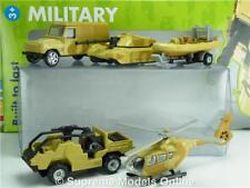 CORGI Militaire TY66094 ensemble 5 pièces modèle Tank hélicoptère bateau Land Rover 1:84 K8