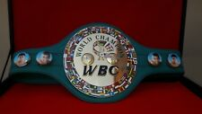 WBC Boxing Champion Ship Belt.full size with wooden case
