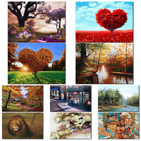 25 Types DIY Paint By Number Kit Digital Oil Painting Art Wall Home Room