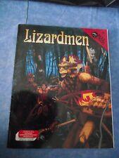 ADVANCED DUNGEONS&DRAGONS LIZARDMEN #749