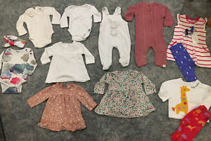 Massive Bundle Of 3-6 Months Baby Girl Outfits Dress