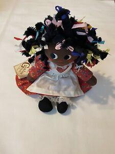 An Original Gambina Doll Ninkie Red Floral Dress Vintage 1979