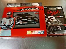 Dale Earnhardt SR # 3 3D Car Tin Case 2 Decks Cards & # 3 Car Keychain Unopened