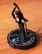 HeroClix Indy #206  SPEC OPS SAVAGE  LE GOLD RING