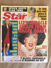 Star / Tabloid / Feb. 1, 1994 / Spock Quits Star Trek