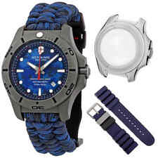 Victorinox I.N.O.X. Professional Diver Titanium Blue Camo Dial Men's Watch