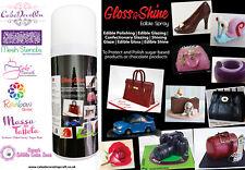 Gloss Shine Spray Edible Confectionery Glaze Shellac Sugar Craft Decorating 0.4L