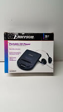 Vintage Emerson Portable Cd Player Hd6825 Bast Boost System Stereo Headphones