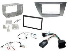 Ctkst 06 Double Din Fascia Volant Adaptateur d/'antenne kit de montage pour Seat Leon