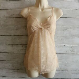 The Limited Women's Lace Camisole Top Size XS Nude Beige