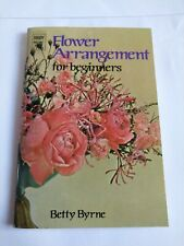 Flower Arranging For Beginners: small book 1971