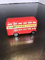 Play Art London City Double Decker Bus Sears Road Mates Routemaster Fast Wheels
