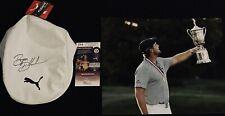 Bryson DeChambeau Signed Puma Tour Driver Flat hat Cap W/ 2020 US Open Bonus JSA