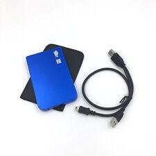 """Blue External 2.5"""" Portable Hard Drive 80GB 120GB 160GB 250GB 320GB 500GB 1TB"""
