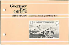 Guernsey 1981 Inter-Island Transport MNH Presentation Pack #C40470
