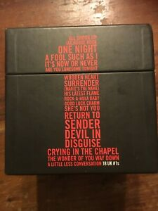 Elvis Presley, 18 UK number 1 singles in a LIMITED EDITION box set. music cds