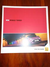 Renault Twingo brochure Jan 2012