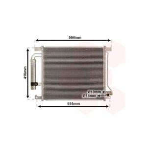 1 Condenseur, climatisation VAN WEZEL 13015703 convient à NISSAN