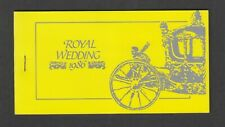 Montserrat - 1986, Royal Wedding Booklet - Imperf - MNH - SG 691/4