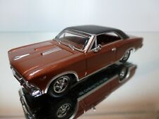 MATCHBOX CHEVELLE SS 396 (1966) - RED/BROWN MET 1:43 - EXCELLENT CONDITION - 6