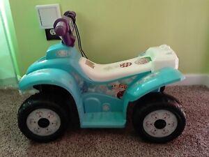 Kids 6V Disney Frozen Elsa Powered Ride-On, Blue Atlanta Local pickup  only